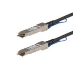 StarTech.com Juniper QFX-QSFP-DAC-1M Compatible 1m 40G QSFP+ to QSFP+ Direct Attach Cable Twinax - 40GbE QSFP+ Copper DAC 40 Gbps Low Power Passive Transceiver Module DAC