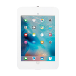THE JOY FACTORY, INC ELEVATE II ON-WALL MOUNT KIOSK WITH SECURE ENCLOUSURE FOR IPAD PRO 12.9 (WHITE)