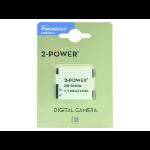2-Power Digital Camera Battery 3.7v 600mAh