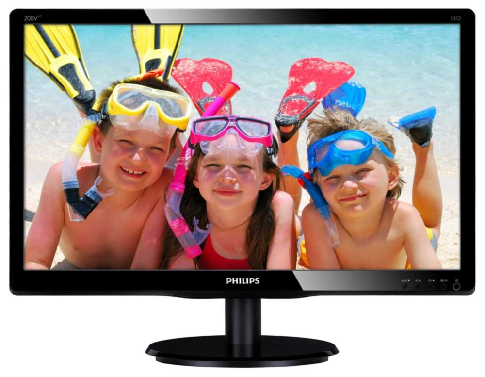 Philips LCD monitor with LED backlight 200V4LAB