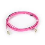 """Black Box Connect fiber optic cable 196.9"""" (5 m) LC LSZH OM4 Violet"""