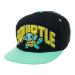 Pokémon Squirtle Snapback Baseball Cap, One Size, Black/Turquoise (SB1EXCPOK)