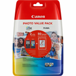 Canon 5222B014 (PG-540 XLCL 541) Printhead multi pack, 21ml + 15ml, Pack qty 2