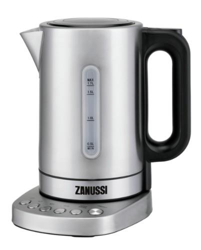 Zanussi ZEK-1290D-SS electric kettle 1.7 L 3000 W Black, Silver