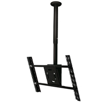 B-Tech Adjustable Drop Flat Screen Ceiling Mount with Tilt
