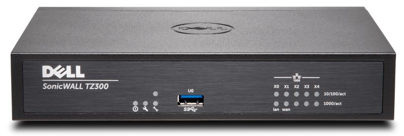DELL SonicWALL TZ300 + TotalSecure 1Y