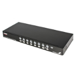 StarTech.com 16 Port 1U Rackmount USB PS/2 KVM Switch with OSD KVM switch