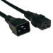 Tripp Lite P036-006 1.83m C19 coupler C20 coupler Black power cable