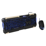Thermaltake E-Sports Commander Keyboard & Mouse Combo Led Backlit Keyboard Black