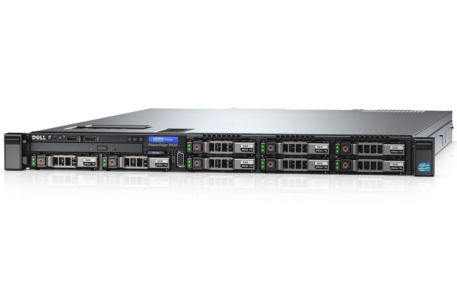 DELL PowerEdge R430 1.7GHz E5-2603V4 Rack (1U)