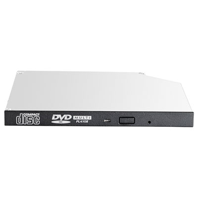 Hewlett Packard Enterprise 726536-B21 optical disc drive Internal Black DVD-ROM