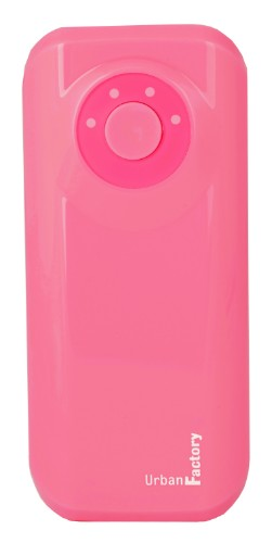 Urban Factory Power Bank Emergency 4400 mAh Pink