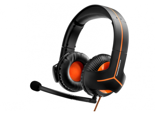 Thrustmaster Y350 CPX 7.1 Stereofonisch Hoofdband Zwart, Oranje