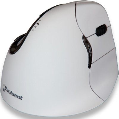 Evoluent Verticalmouse 4 mouse Bluetooth Optical 2600 DPI