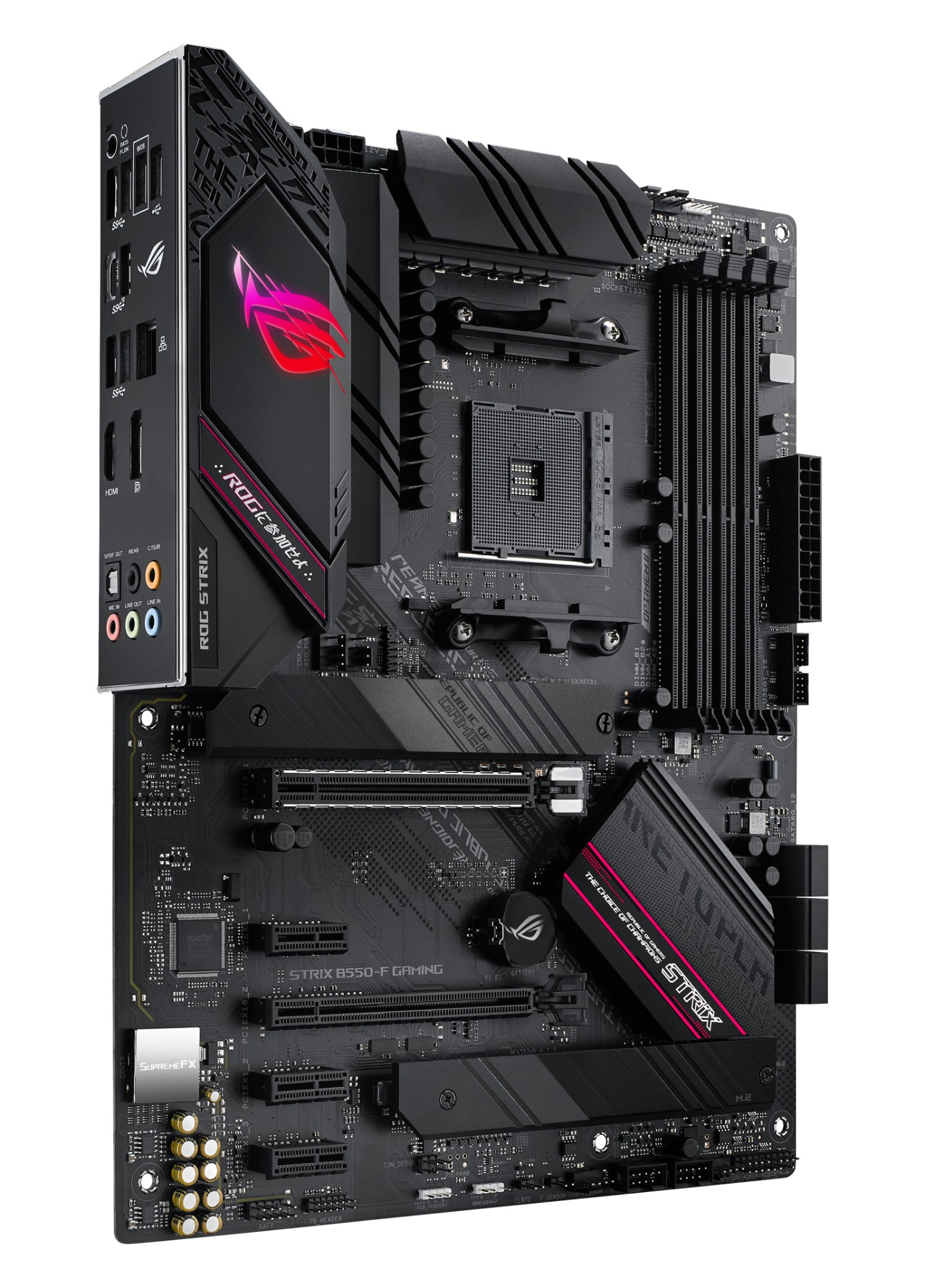 ASUS ROG STRIX B550-F GAMING Socket AM4 ATX AMD B550