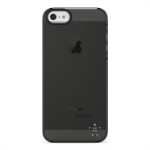 Belkin Shield Sheer Matte iPhone 5 Cover Black,Transparent