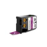 DYMO 1868793 White on purple label-making tape