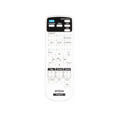 Epson 2155721 remote control Projector Press buttons