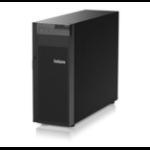 LENOVO ThinkSystem ST250 (1/1x Xeon E-2236 6C/12T 3.4GHz, 1/4x 16GB, 4/8x LFF HS, Onboard SW RAID, 2x 1GbE,