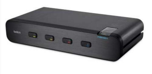 Linksys F1DN104E-3 KVM switch Black