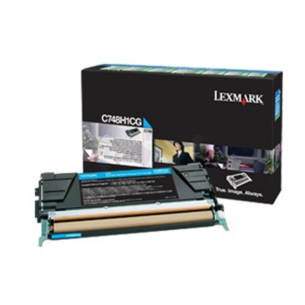 Lexmark C748H3CG Toner cyan, 10K pages