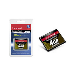 Transcend CFCard 4GB Industrial 100X PIO Mode 4GB CompactFlash memory card