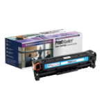 PrintMaster Cyan Toner Cartridge for HP Laserjet Pro 200 Color M 251 NW/-MFP M 276 NW, Canon LBP 7100/7110 Series
