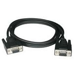 Null Modem Cable Db9 F/f 5m Black