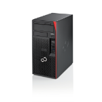 Fujitsu ESPRIMO P958 E94+ i5-8500 Desktop 8th gen Intel® Core™ i5 8 GB DDR4-SDRAM 256 GB SSD Windows 10 Pro PC Black, Red