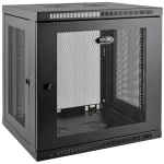 Tripp Lite 12U SmartRack Low-Profile Wall Mount Rack Enclosure Server Cabinet Deep