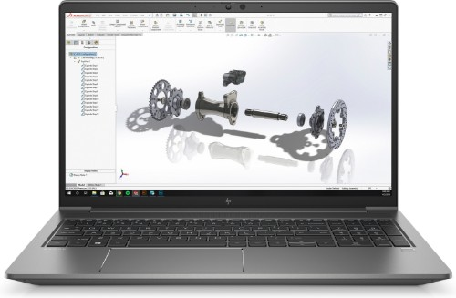 "HP ZBook Power G7 Mobile workstation 39.6 cm (15.6"") 1920 x 1080 pixels 10th gen Intel® Core™ i7 16 GB DDR4-SDRAM 512 GB SSD NVIDIA® Quadro® P620 Wi-Fi 6 (802.11ax) Windows 10 Pro Silver"