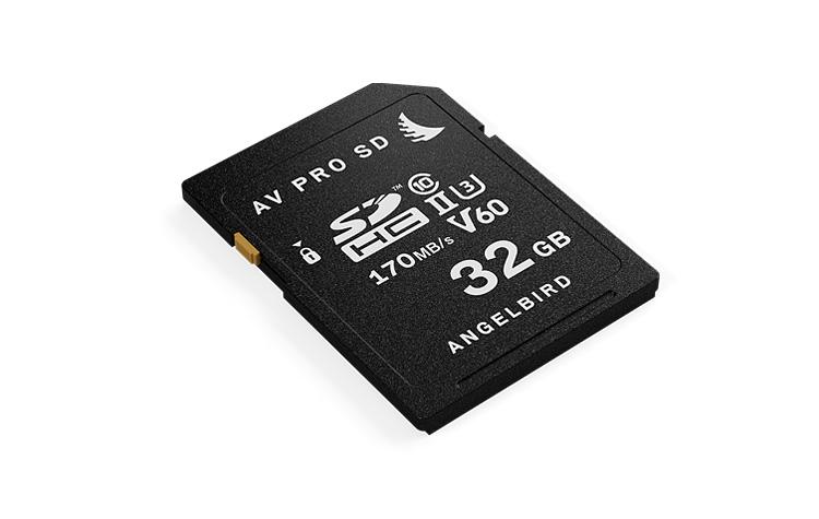 Angelbird Technologies AVP032SDV60 memory card 32 GB SDXC Class 10 UHS-II