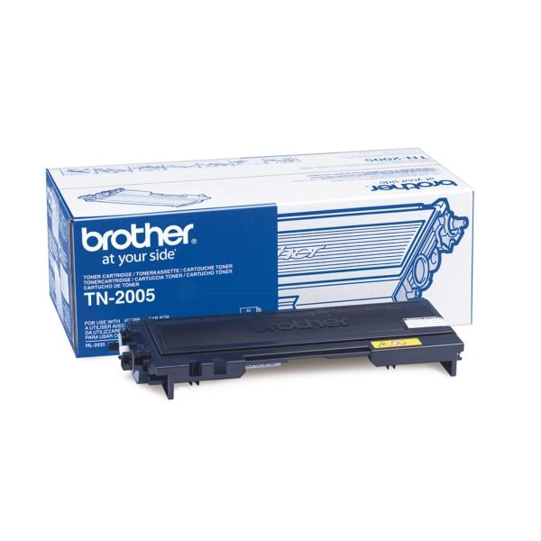 Brother TN-2005 Toner black, 1.5K pages