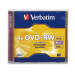 Verbatim DVD+RW 4.7GB 4X Branded 1pk Jewel Case 4.7GB DVD+RW 1pcs