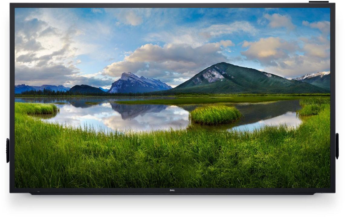 "DELL C8618QT touch screen monitor 2.17 m (85.6"") 3840 x 2160 pixels Black,Silver Multi-touch Multi-user"