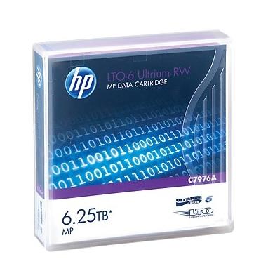 Hewlett Packard Enterprise LTO-6 Ultrium RW 6250GB 12.65mm