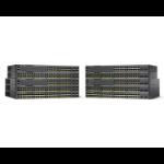 Cisco Catalyst 2960-X Managed L2/L3 Gigabit Ethernet (10/100/1000) Power over Ethernet (PoE) Black
