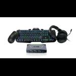 iogear GE1337P2KIT3 keyboard USB Black