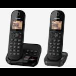 Panasonic KX-TGC422EB telephone DECT telephone Caller ID Black