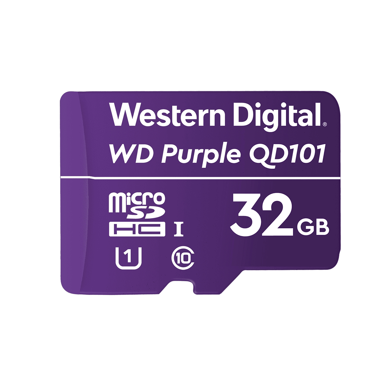 Western Digital WD Purple SC QD101 memory card 32 GB MicroSDHC Class 10