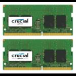 Crucial 16GB (2x8GB) DDR4 2400 SODIMM 1.2V 16GB DDR4 2400MHz memory module