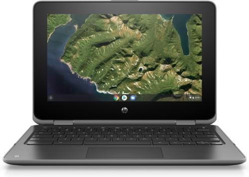 "HP Chromebook x360 11 G2 EE Grey 29.5 cm (11.6"") 1366 x 768 pixels Touchscreen Intel® Celeron® N4000 4 GB LPDDR4-SDRAM 32 GB Flash"