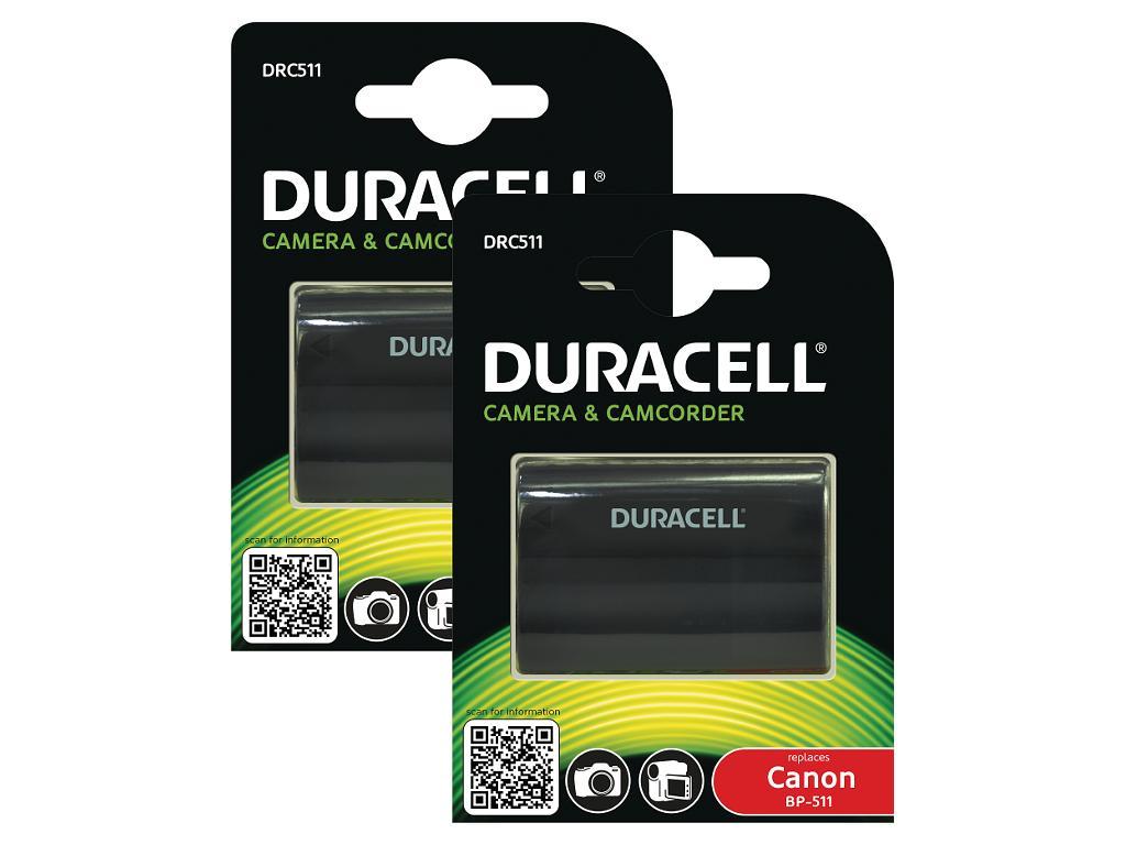 Duracell DRC511 Twin Pack 7.4v 1400mAh