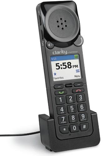 POLY Clarity P340-M Caller ID Black