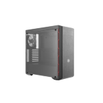 Cooler Master MasterBox MB600L Midi-Tower Black,Red