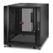 APC NetShelter SX 12U Rack o bastidor independiente Negro