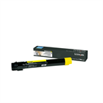Lexmark X950X2YG Toner yellow, 24K pages @ 5% coverage