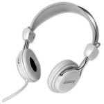Laser AO-HEADK-WT White Circumaural Head-band headphone