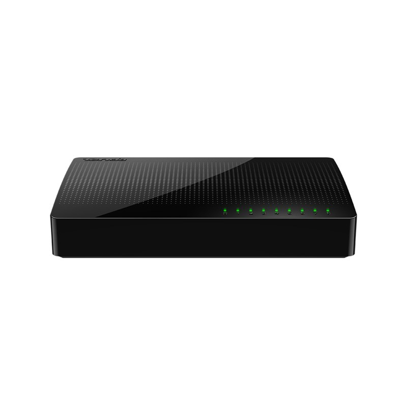Tenda SG108 Gigabit Ethernet (10/100/1000) Black network switch