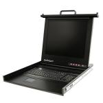 "StarTech.com 1U 17"" Rackmount LCD Console – USB – Value Series"
